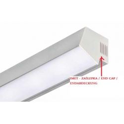 zaslepka do profilu led, end cap to led alu profiles, endkappe